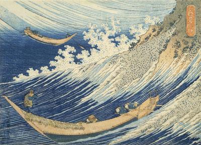 Mille Images de l'océan, Chôshi dans la province de Shimosa, 1832-1834© Thierry Ollivier / RMN