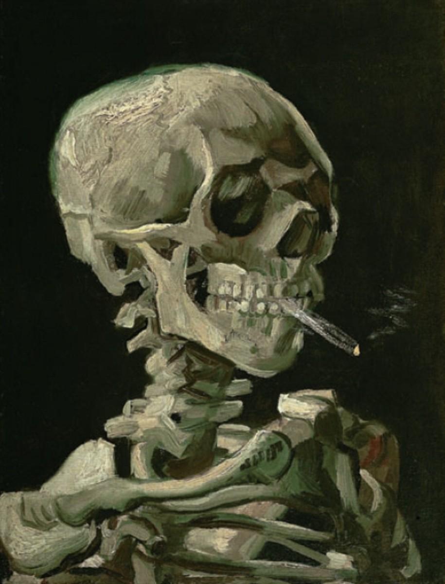 Sujet - n°90 Vincent-van-gogh-skull-of-a-skeleton-with-burning-cigarette1