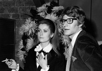 Catherine Deneuve et Saint Laurent