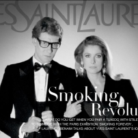 Yves Saint laurant yslrevolition - smoking - denevue - non si dice piacere