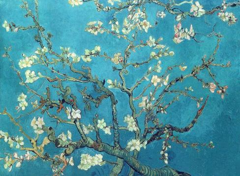 Branches with almond blossom, 1890