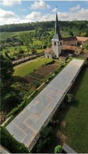 Bertrand Lavier au Château de Sainte-Colombe