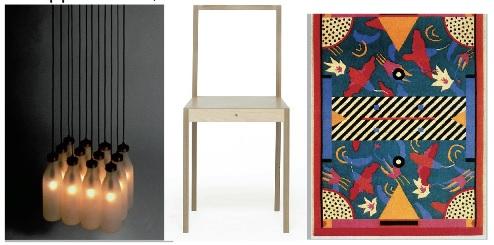 Droog Design, Milkbottles Lamp // Jasper Morrison, Ply //