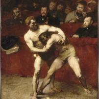 Alexandre Falguière (1831-1900) - Lutteurs, 1875