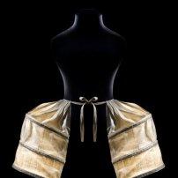 Paniers doubles à poches, 1775-1780