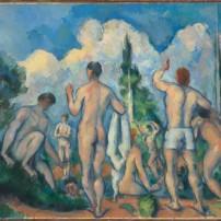 Paul Cézanne (1839-1906) - Baigneurs, vers 1890 © RMN