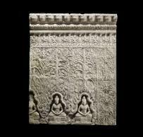 Moulage, Preah Khan d'Angkor, Mission Raffegeaud 1890-1891 Musée Guimet © D. R.