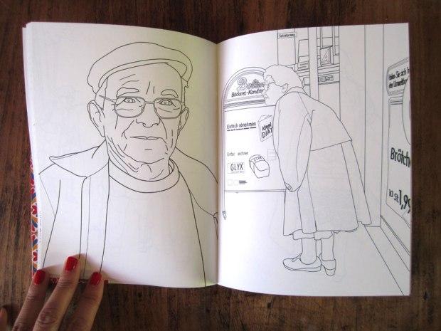 Colorie tes grands-mères © Marie-Amélie Porcher