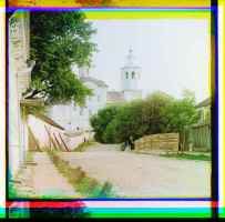 Le monastère d'Abraham à Smolensk, 1912 © Library of Congress, Procoudine-Gorsky Collection - Famille Procoudine-Gorsky