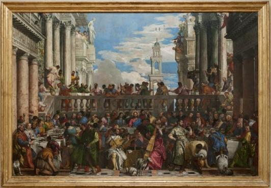 Les Noces de Cana, Véronèse, 1563 © 2010 Musée du Louvre, Angèle Dequier