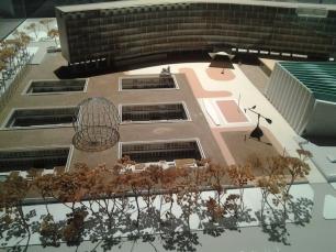 Maquette du siège de l'UNESCO © Je beurre ma tartine