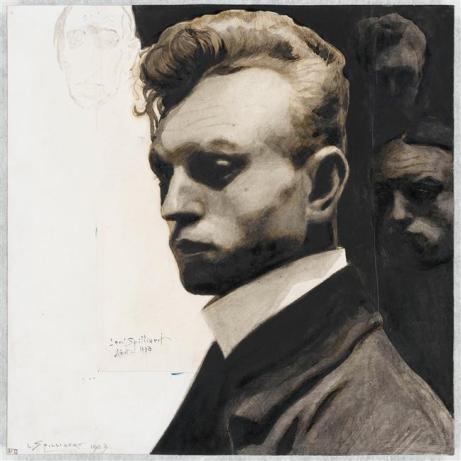 Autoportrait dit aux masques, Spilliaert Léon, 1903(C) ADAGP (C) ADAGP
