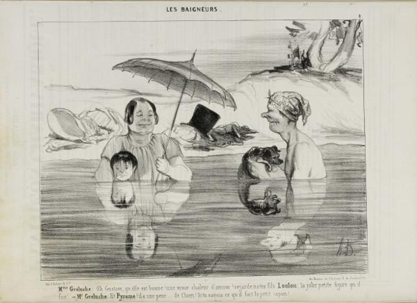 Mme Greluche [...] Le Charivari 21 juillet 1839 © Maison de Balzac / Roger-Viollet