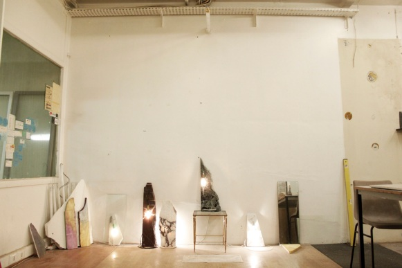 Vue de l'atelier de Joseph Meidan © Aurélien Mole, 2014