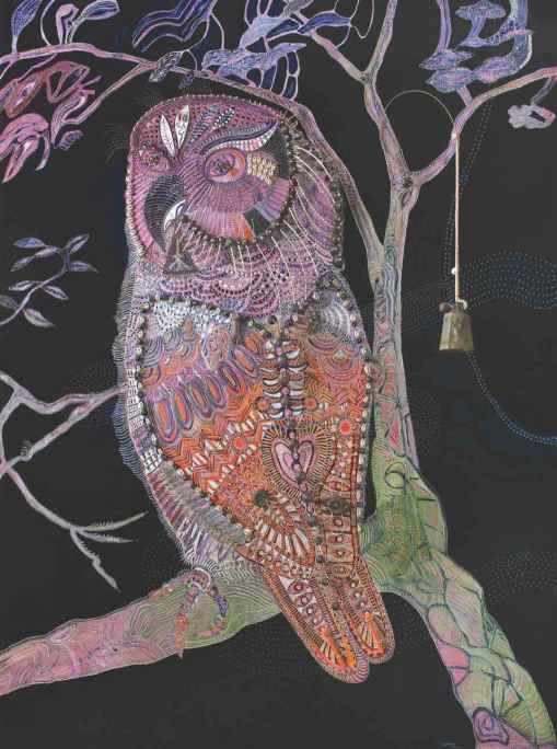 Midnight Owl - Mud Island © Joshua Yeldham 2012