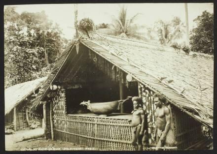 Gamal at Ahia, Ulawa, Solomons, Beattie, John Watt © musée du quai Branly