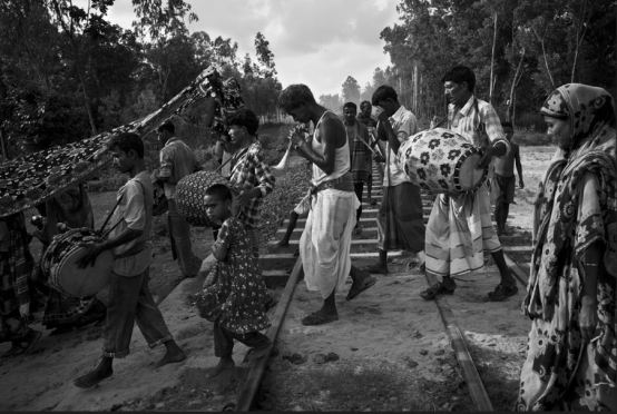 Cérémonie de mariage hindou au Bangladesh © Gael Turine