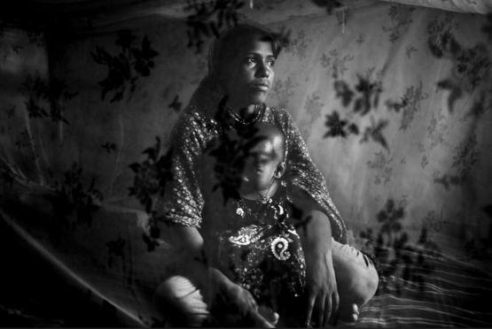 Roksana, 18 ans, Bangladesh © Gael Turine