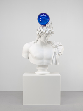 Gazing Ball (Antinous-Dionysus)  © Jeff Koons 2013
