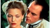 Tourvel (Michelle Pfeiffer) & Valmont (John Malkovich) - Stephen Frears , 1988.