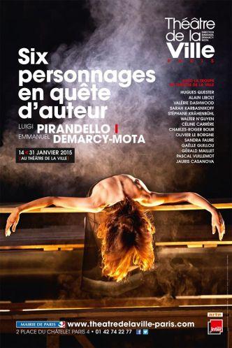 Six personnages en quête d'auteur - Janvier 2015 © Théâtre de la Ville - Paris