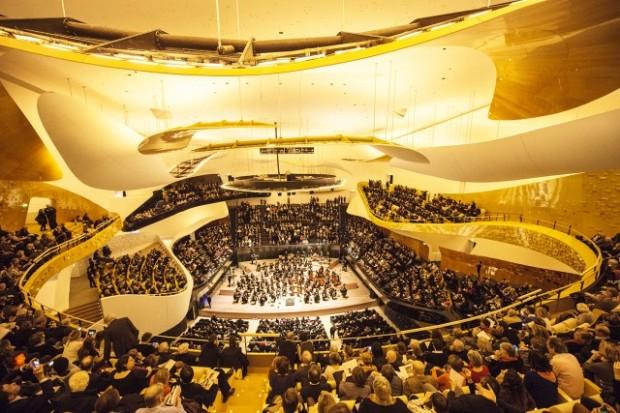 Salle des concerts, site de la Philharmonie – © Beaucardet
