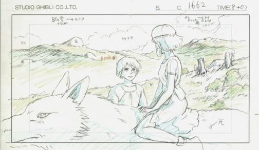 GalerieArttLudique-dessins-Ghibli-studio4