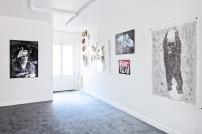 """""""Cinq"""", Vue d'exposition, Galerie E.G.P, Paris, janvier 2015 Photo : © Andreas Krueger. Courtesy Galerie E.G.P"""