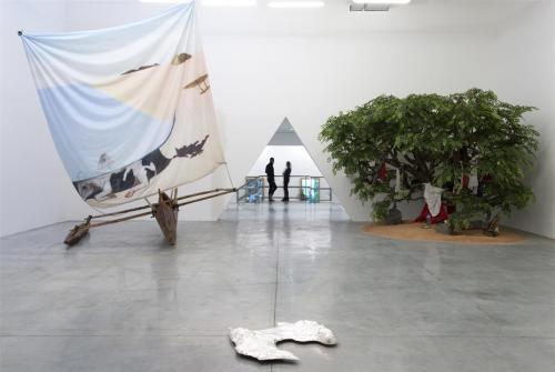 Vue de l'exposition Et In Libertalia Ego © Marc Domage