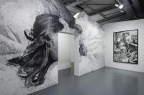 Vue de l'exposition Fatum - Jérôme Zonder - Maison Rouge © Marc Domage