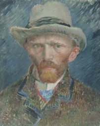 Vincent Van Gogh, Autoportrait, 1887, huile sur toile © Rijksmuseum, Rijks Studio