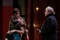 Marie Vialle et Ariel Garcia Valdes, photo de répétition - Ivanov © Thierry Depagne