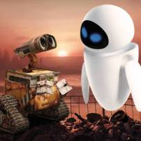 Wall-e et Eve © WALL-E Studio Pixar - 2008.