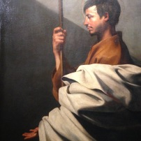 Jusepe Ribera - Saint Thomas, Vers 1612 : Huile sur toile. Florence, Fondazione di Studi di Storia dell'Arte Roberto Longhi © Photo Agathe T - JBMT