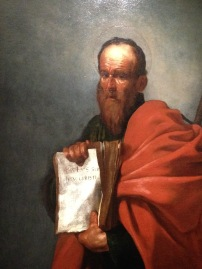 Jusepe Ribera - Saint Barthelemy, Vers 1612 : Huile sur toile. Florence, Fondazione di Studi di Storia dell'Arte Roberto Longhi © Photo Agathe T - JBMT