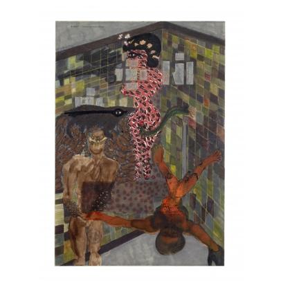 Carol Rama, Nuove Seduzioni, 1985, Collection privée, Turin © Photo Studio Dario & Carlos Tettamanzi © Archivio Carol Rama, Turin