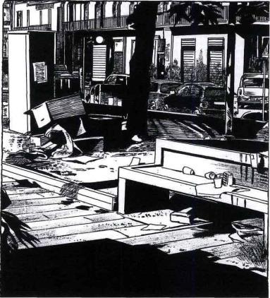 Frédéric Pajak – Naples» (Noir sur blanc 2014)