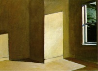 Sun in Empty Room. Edward Hopper, 1963.