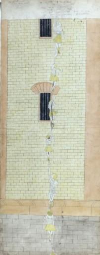 Henry Darger, Make daring escape 1910-1970 © Eric Emo / Musée d'Art Moderne / Roger-Viollet