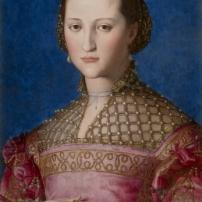 Agnolo Bronzino, Portrait d'Eléonore de Tolède, 1522, Huile sur bois, 59 x 46 cm, Prague, NárodnÍ Galerie © National Gallery of Prague 2014