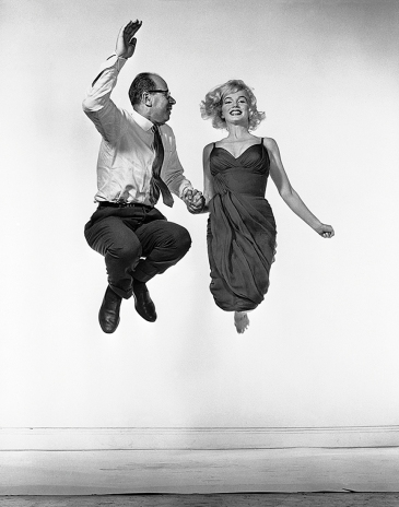 Marilyn Monroe et Philippe Halsman, 1959 © 2015 Philippe Halsman Archive / Magnum Photos