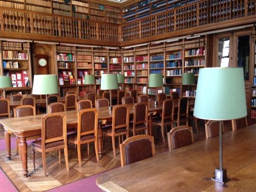 Salle de lecture - Bibliothèque de l'Arsenal © Photo : Agathe Torres