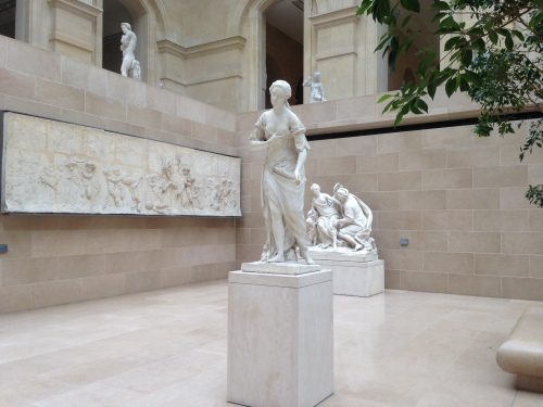 Cour Marly - Musée du Louvre. © Photo : Agathe Torres.