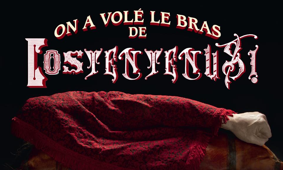 On A Vole Le Bras De Constentenus Par Hey La Cie Un Voyage