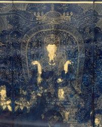 Sutra de la Parfaite illumination (détail) © Musée Guimet, Paris, Dist. RMN-Grand Palais / P. Pleynet