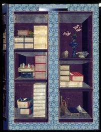 Paravent Chaek'kori (détail) © Musée Guimet, Paris, Dist. RMN-Grand Palais / Thierry Ollivier