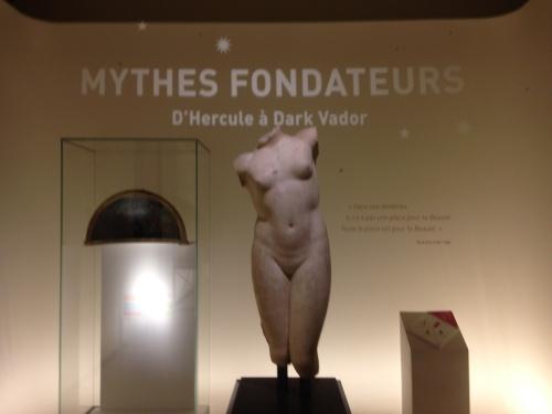 Exposition Mythes Fondateurs, Petite Galerie, Musée du Louvre. © Photo : Agathe Torres