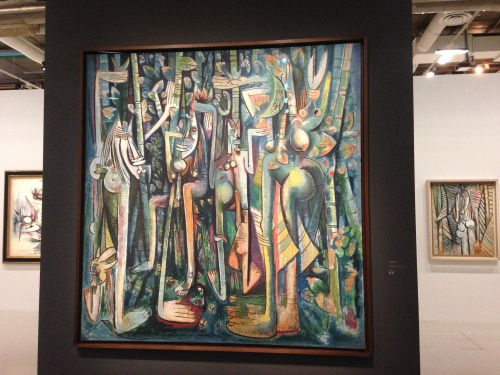 Wilfredo Lam, La jungle. Centre Pompidou © Photo : Agathe Torres