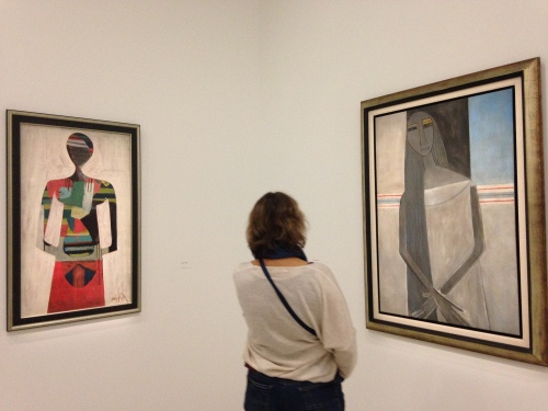 Exposition Wilfredo Lam, Centre Pompidou © Photo : Agathe Torres